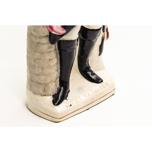 Mid 19th Century Antique Staffordshire Napoleon For Sale - Image 5 of 6