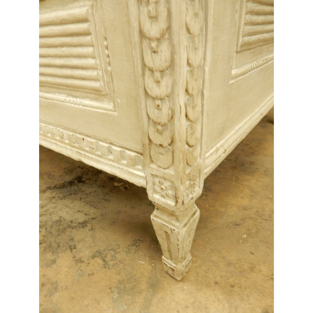 Large Painted 18th Century Northern European Commode For Sale - Image 10 of 11