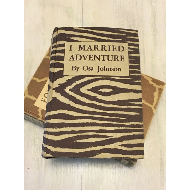 """I Married Adventure"" by Osa Johnson (1940) For Sale - Image 4 of 8"