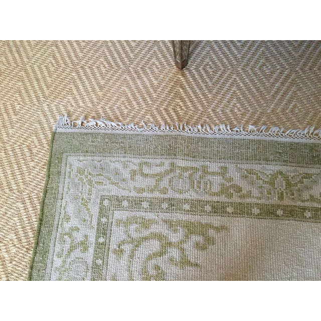 """Vintage Asian Area Rug - 5'11"""" X 9'4"""" - Image 5 of 5"""