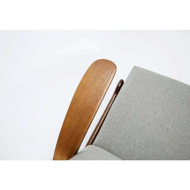 """Fabric Adolf Relling and Rolf Rastad """"Rock N Rest"""" Armchairs - a Pair For Sale - Image 7 of 9"""