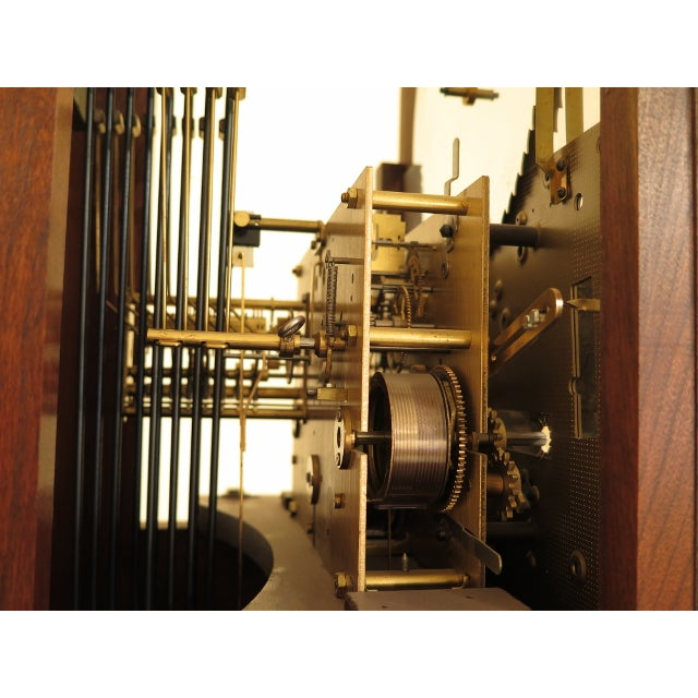 Sligh John Goddard Cherry Grandfather Clock For Sale - Image 11 of 13