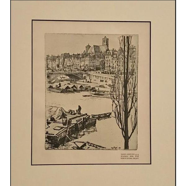 A romantic view of the artist's colony known as Saint-Gervais, from the French journal Cocorico. Cocorico was a French...