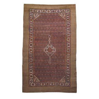 Serab Rug With Camel Pile - 7′8″ × 11′6″ For Sale