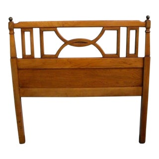 Mid Century Modern Twin Size Headboard For Sale