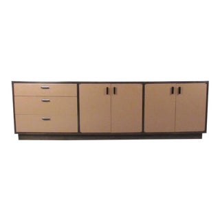 Founders Mid-Century Modern Office Credenza For Sale
