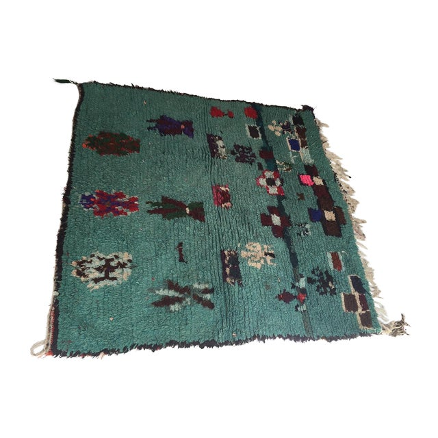 Vintage Moroccan Rug - 4′1″ × 4′2″ - Image 1 of 6