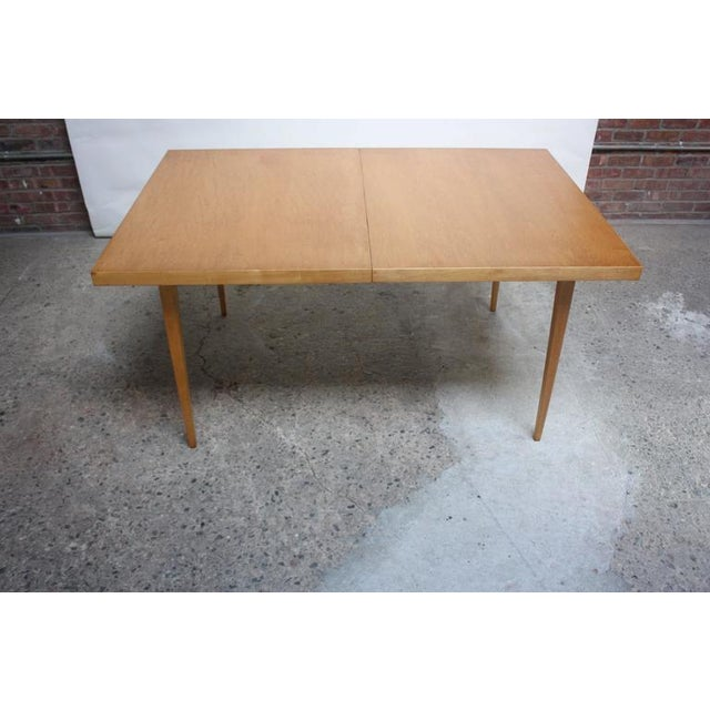 Paul McCobb Maple Extendable Dining Table - Image 11 of 11