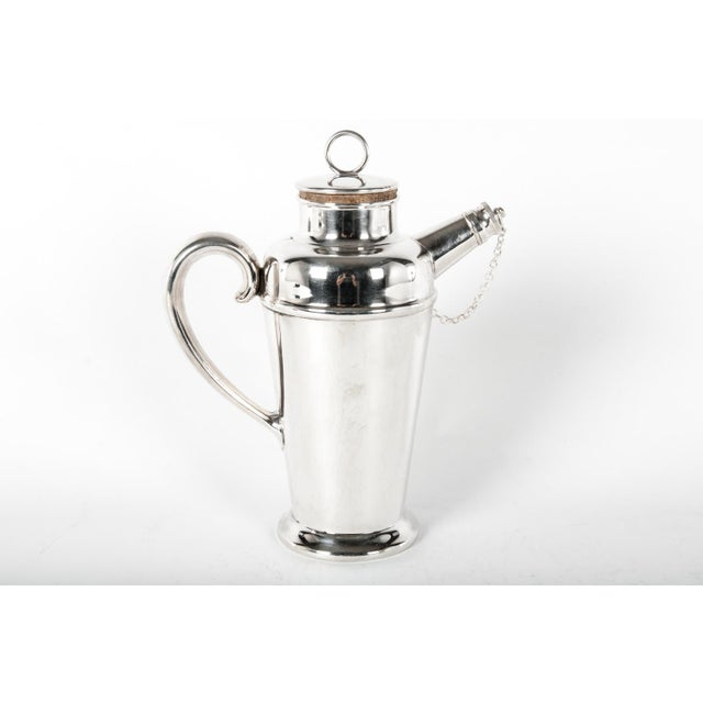 English Silver Plate Cocktail Server For Sale In New York - Image 6 of 6