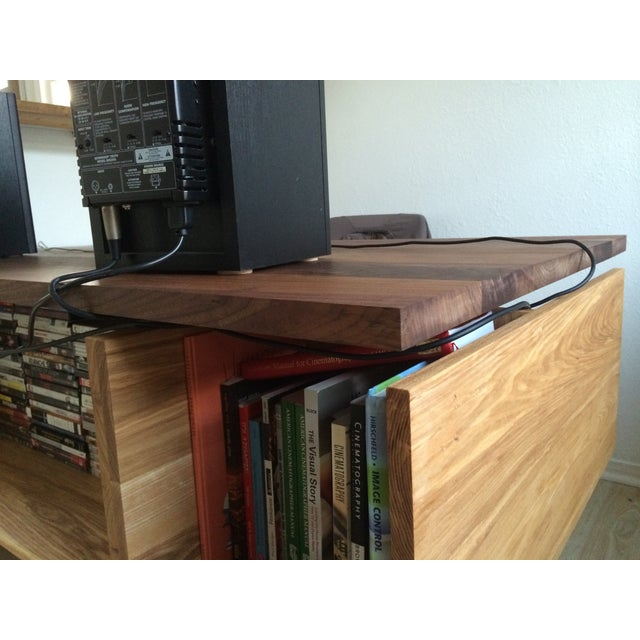 Hand Built Desk With Floating Walnut Top - Image 6 of 9