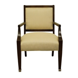 Vintage Lexington Furniture Nautica Home Collection Upholstered Accent Arm Chair For Sale