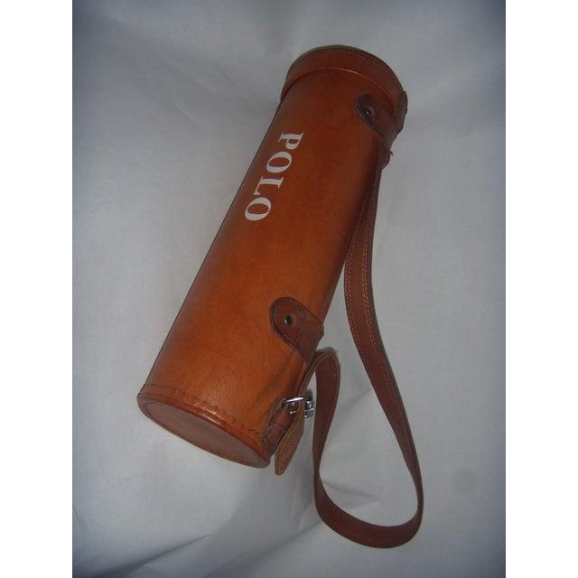 Leather Polo Balls Bag - Image 2 of 6