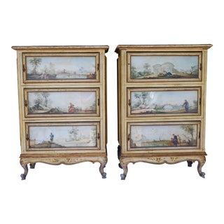 20th C. Italian Painted Chests For Sale