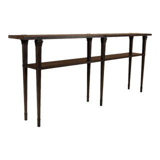 Boulevard Console Table, Artisan Grey For Sale