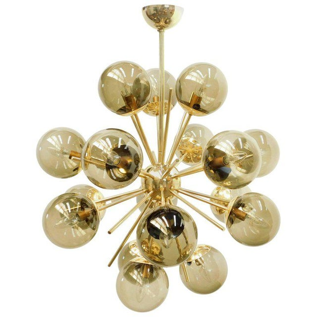 Diciotto Sputnik Chandelier by Fabio Ltd For Sale - Image 10 of 10