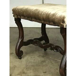 Late 19th Century Antique Louis XIV Style Walnut Bench Preview