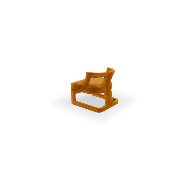 Modern Covet Paris Batak Bold Armchair For Sale - Image 3 of 10