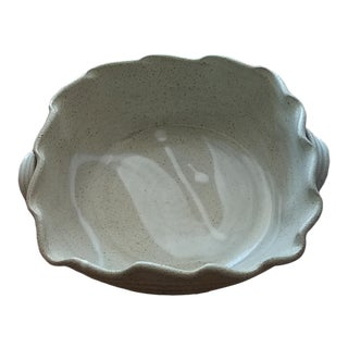 Christopher Bragg Glazed Pottery Bowl For Sale