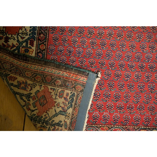 "Vintage Malayer Carpet - 5'8"" X 8'5"" For Sale - Image 9 of 12"