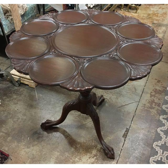 American Kittinger Tilt-Top Piecrust Table For Sale - Image 3 of 11