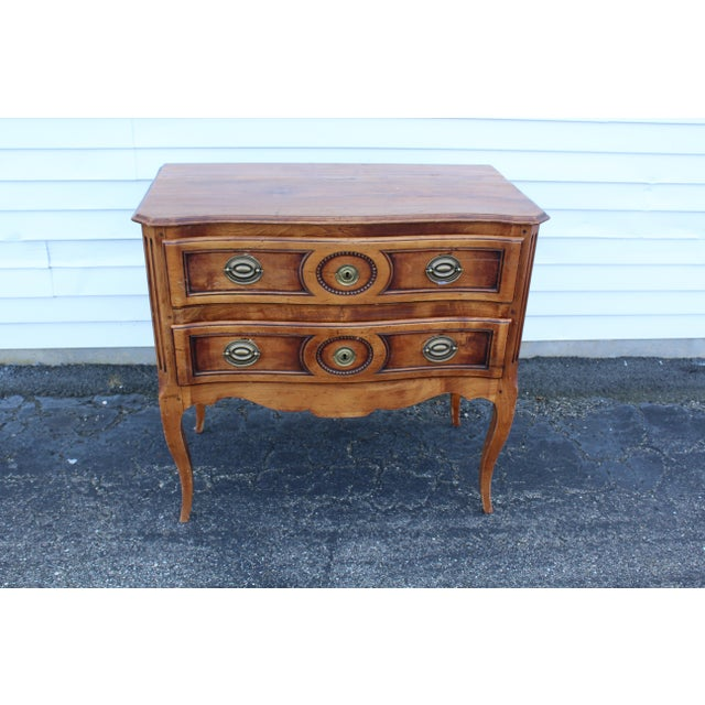 20th Century Louis XV Cherry Wood Chest For Sale - Image 4 of 9