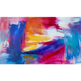 """""""Kimberley Gorge"""" by Trixie Pitts Large Abstract Oil Painting For Sale"""