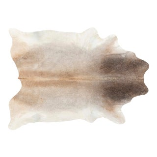 Light Brown + Grey Genuine Brazilian Cowhide