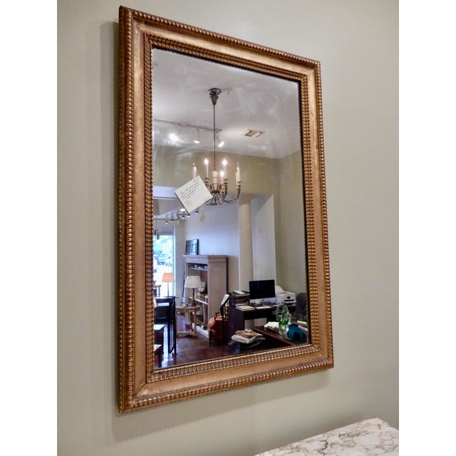 19th Century French Charles X Gilt Mirror / Mercury Glass For Sale - Image 10 of 10