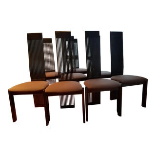 Pietro Constantini Contemporary Dining Chairs - Set of 8