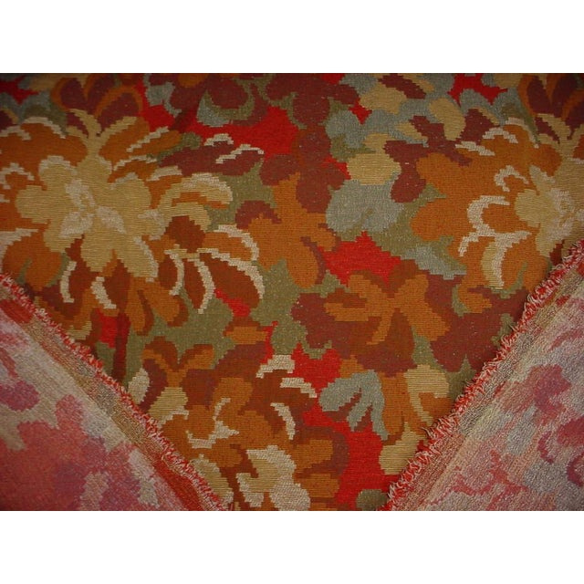 Kravet Kravet Couture Red Tree Branch Floral Tapestry Upholstery Fabric - 12-7/8 Yards For Sale - Image 4 of 5