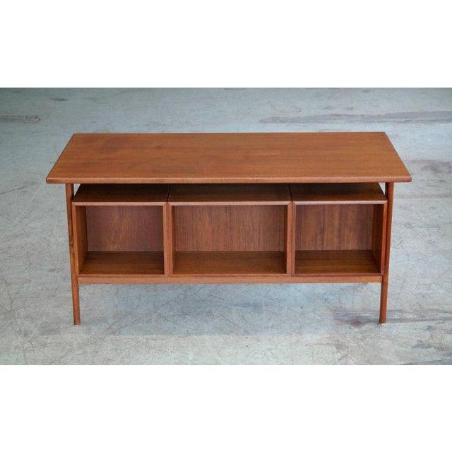Executive Teak Desk Model FM 60 by Kai Kristiansen for Feldballes Møbelfabrik For Sale - Image 9 of 10