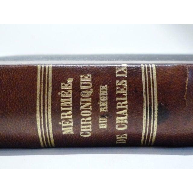 Merimee Chronique De Charles IX Book - Image 3 of 5
