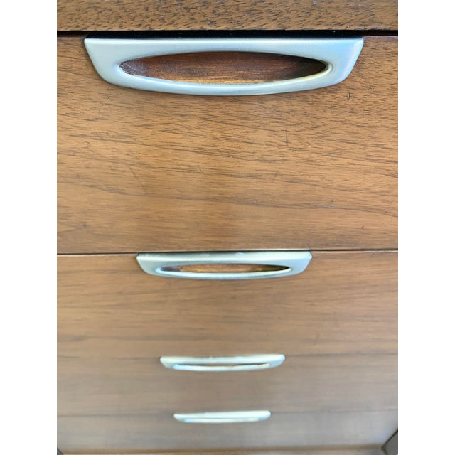 Mid Century Modern Nine Drawers Dresser For Sale In Los Angeles - Image 6 of 11