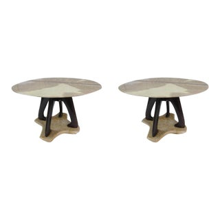 A Pair of Tables by Vittorio Dassi, Italy 1950 For Sale