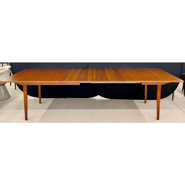 Herman Miller George Nelson Herman Miller Dining Table, Mid-Century Modern Teak Wood For Sale - Image 4 of 13