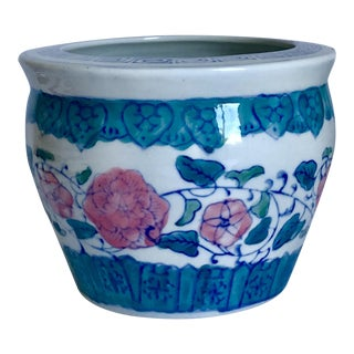 Vintage Asian Cachepot Planter For Sale