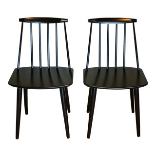 Vintage Folke Palsson J77 Chairs - a Pair For Sale