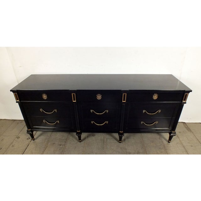 1960s Vintage Hollywood Regency Credenza/Server - Image 3 of 10