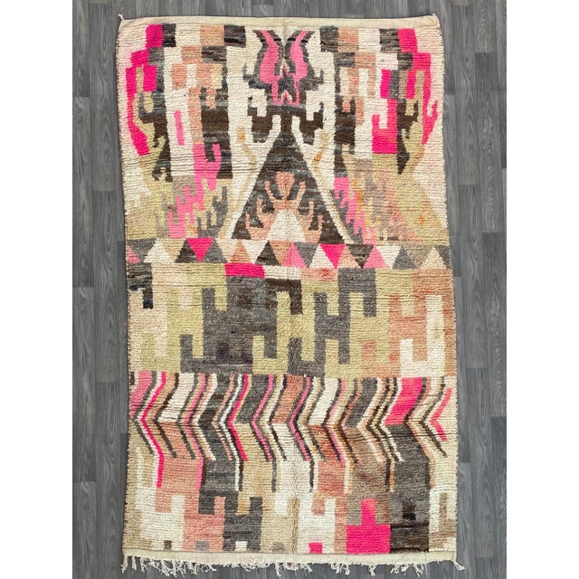 Berber Moroccan Rugs-5′10″ × 9′4″ For Sale - Image 9 of 9