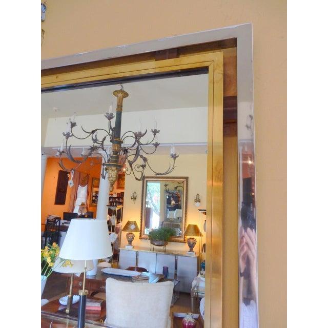Italian Romeo Rega Mid-Century Mirror For Sale - Image 3 of 6