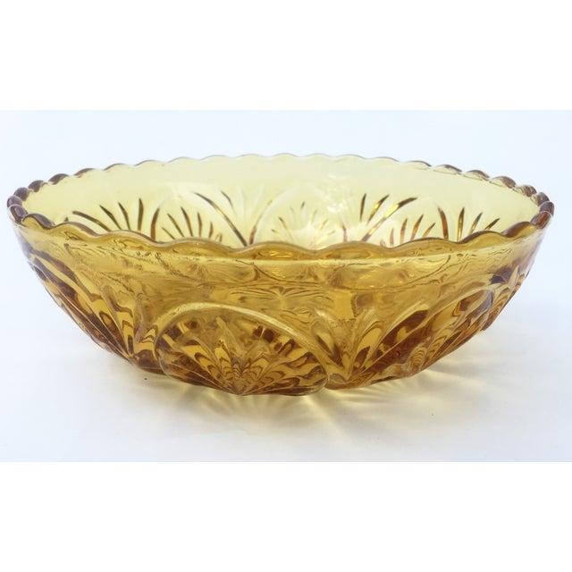 Yellow Glass Bowl - Image 3 of 3