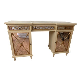 Julia Gray Mirrored Vanity For Sale
