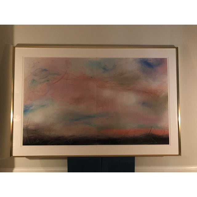 Aleah Koury Skyscape Painting For Sale - Image 4 of 11