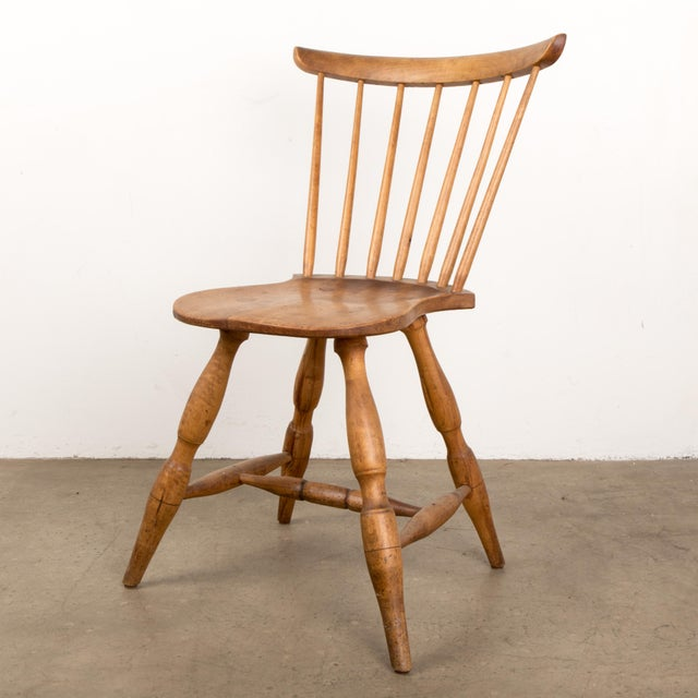 Small Danish Shaker Style Windsor Chair For Sale - Image 12 of 12