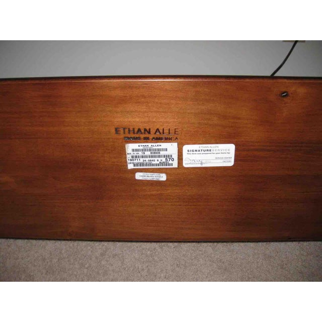 Ethan Allen King Sleigh Bed For Sale - Image 9 of 11