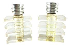 Image of Lucite Bathroom Accessories