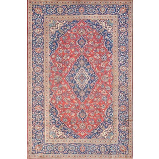 Mansour Original Handmade Persian Kashan Rug For Sale
