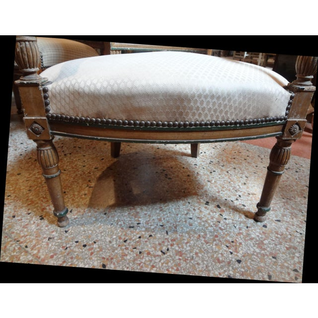 Pair of Directoire Period Fauteuils For Sale In New Orleans - Image 6 of 11