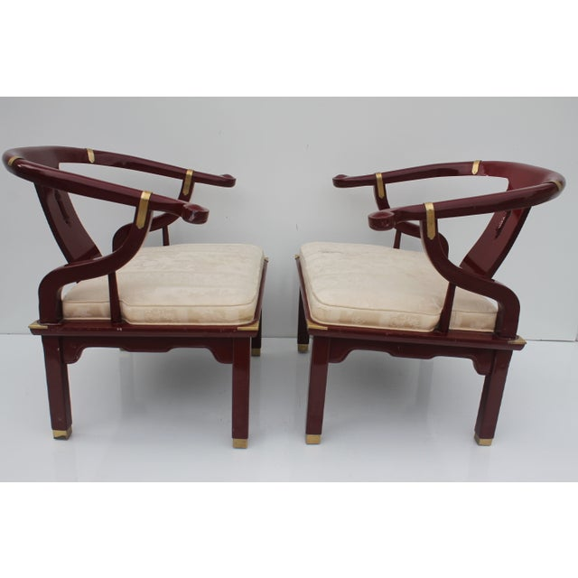 James Mont Chairs by Century a Pair. - Image 3 of 8