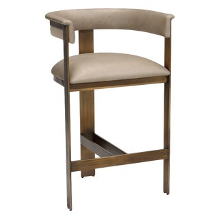 Darcy Counter Stool - Taupe For Sale